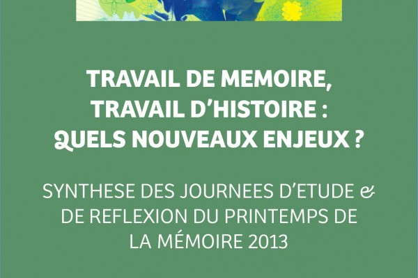 Actes - Printemps de la mémoire 2013 - final-1-1-001